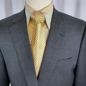 Brooks Brothers1818 Golden Fleece Suit 44R Gray